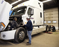 Trucking safety and maintenance